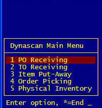 Getting started with Dynascan